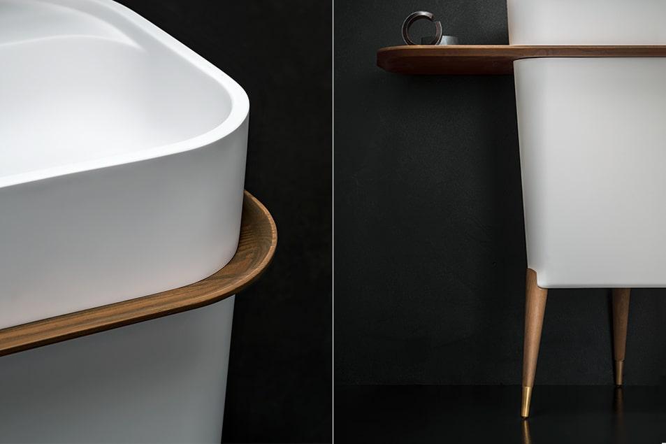 Cerasa sala da bagno arredata con la linea Icone Free