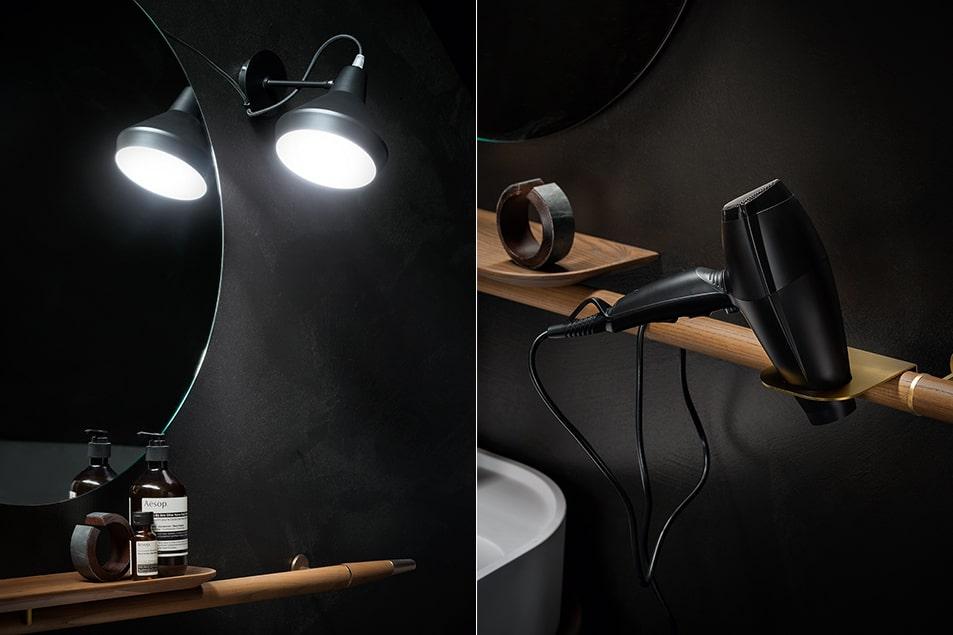 Cerasa, sala da bagno arredata con mobili della linea Icone Free