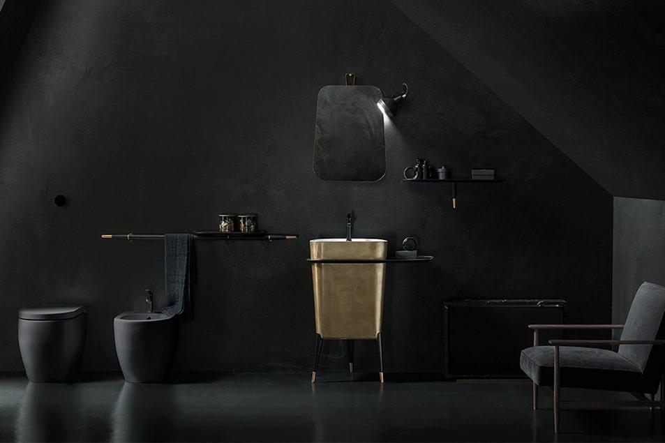 Cerasa, Icone Free è la linea di arredo bagno esclusivo, dai dettagli raffinati