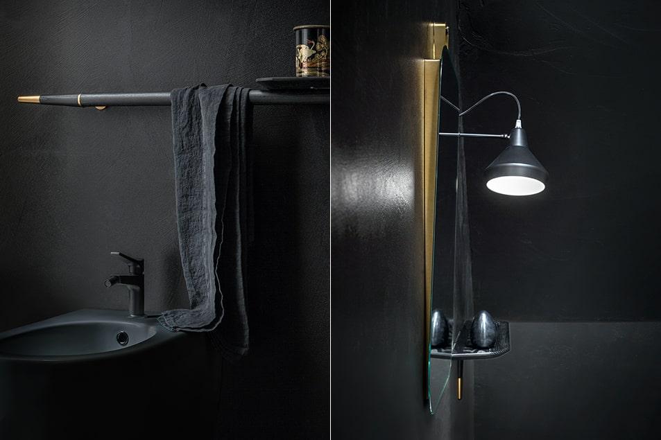 Materiali di pregio e dettagli raffinati per la linea esclusica di arredamento per la sala da bagno Cerasa