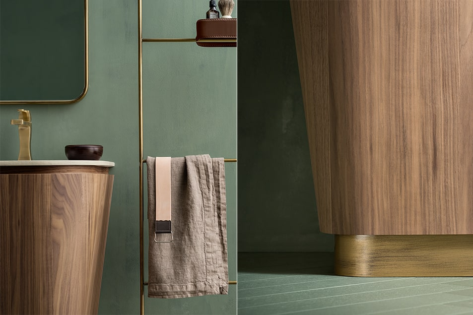 Cerasa collezione Icone Suede per la sala da bagno