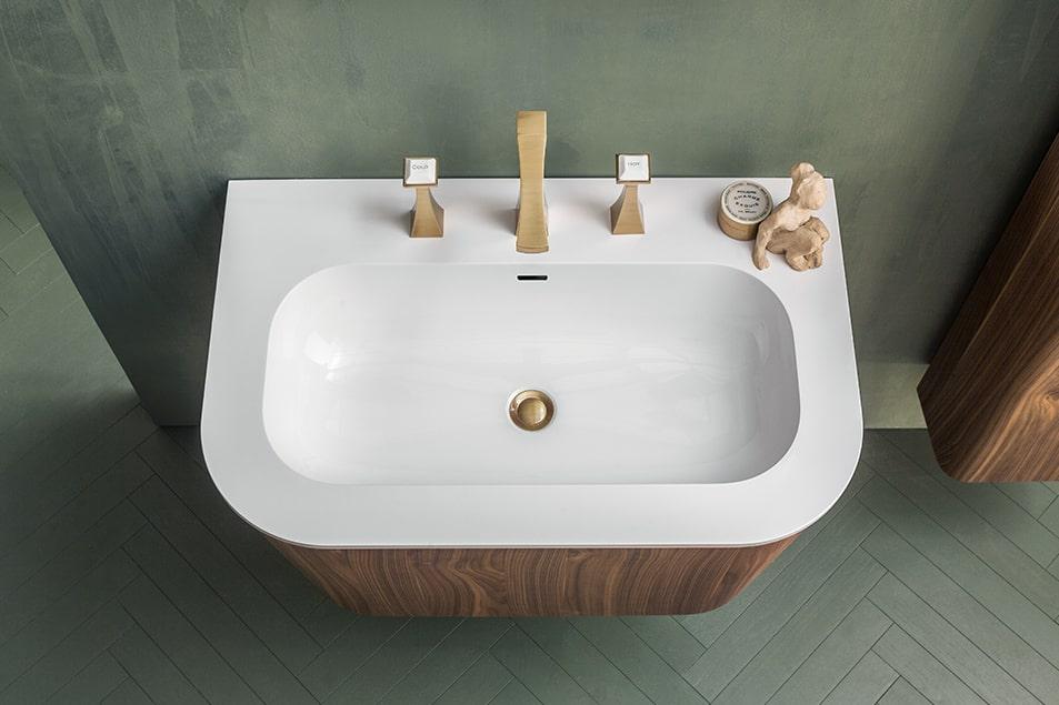Cerasa arredo bagno Icone Suede lavabo