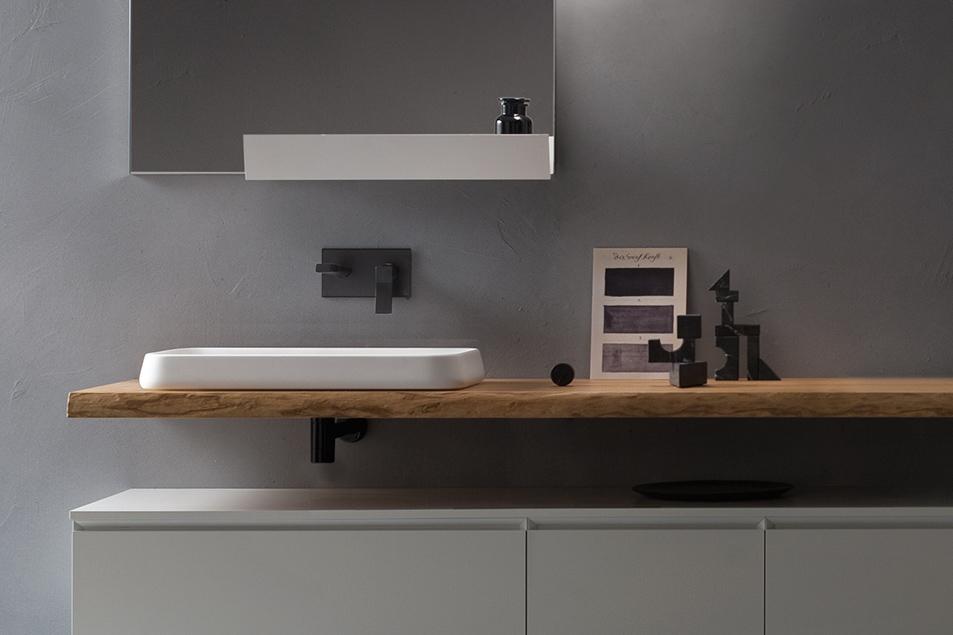 Lavabo da appoggio Kama dal design esclusivo Cerasa
