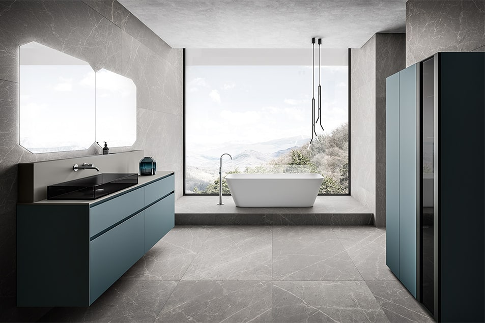Vasca freestanding Style in Tecnoril Bianco opaco
