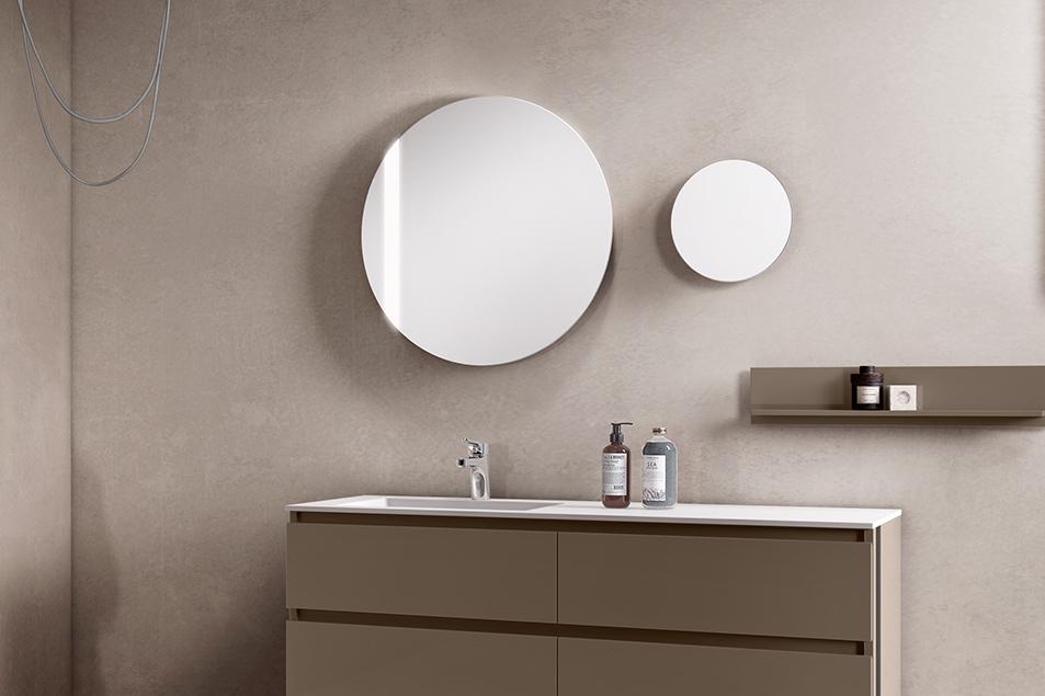 Specchi da bagno illuminati Tondo Plus