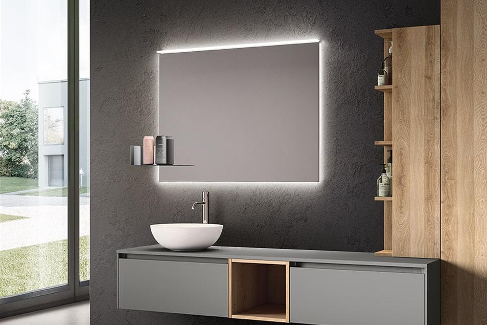 Specchi da bagno illuminati Recto Plus