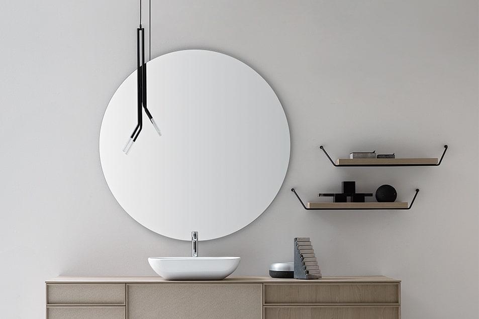 Specchio particolare Tondo da bagno Cerasa