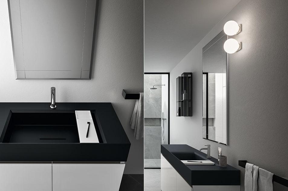 Specchio particolare da bagno Cerasa Decor