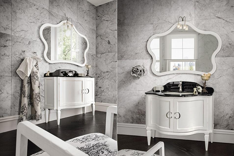 Specchio particolare Tork da bagno Cerasa