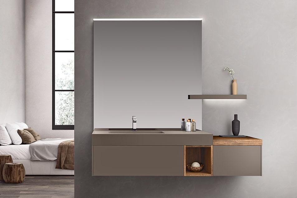 Specchio da bagno Recto Cerasa