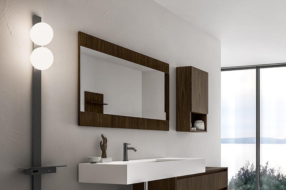 Specchio particolare da bagno Cerasa Party2