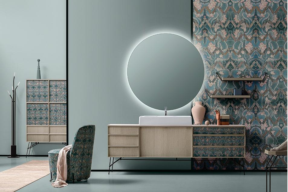 Des Geometrico arreda le pareti con carte da parati viniliche, lavabili e altamente performanti