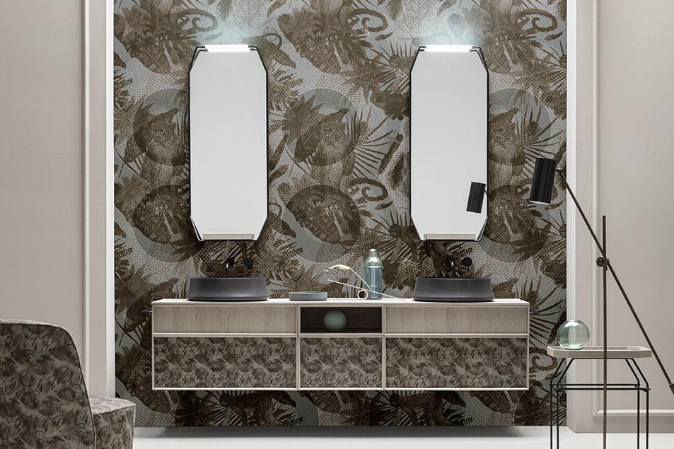 Des Monkey, arreda le pareti con carte da parati viniliche, lavabili e altamente performanti