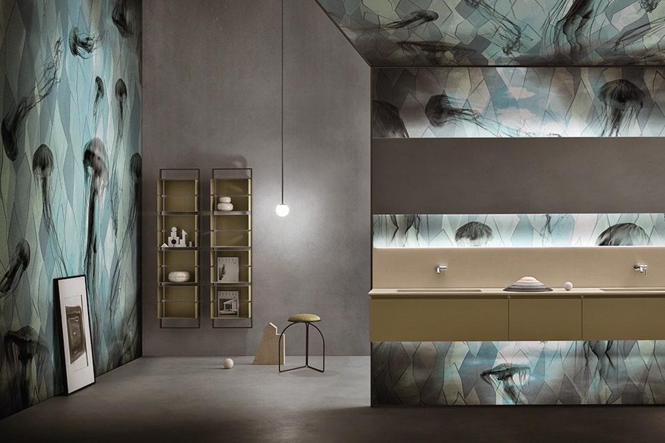 Jellyfish Skinglass, carte da parati uniche e innovative