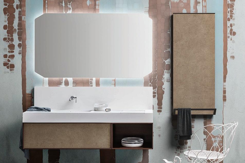 Termoarredo Cerasa, Frame scaldasalviette bagno con appendino