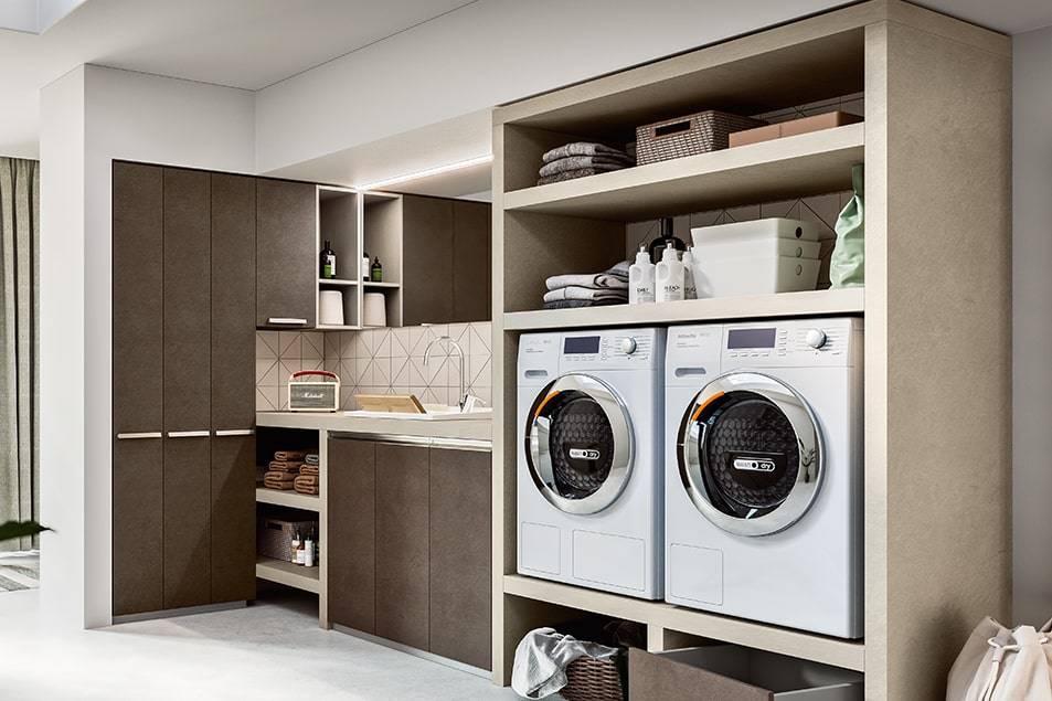 Regola, scaffali salvaspazio per lavanderia e antibagno