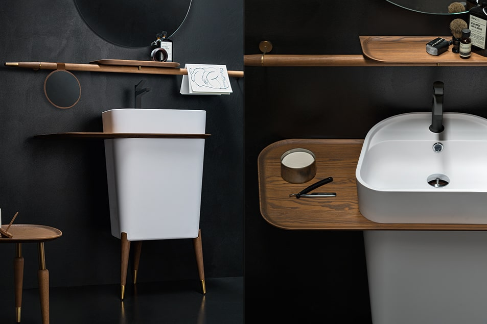 Cerasa, i lavabo freestanding arredano: Smart