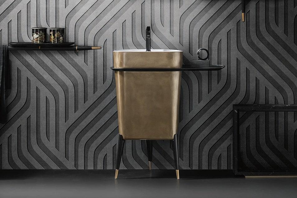 Cerasa, i lavabo freestanding: Smart, il design che arreda