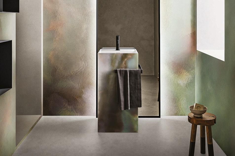 I lavabo arredano con eleganza e personalità per un effetto scultura