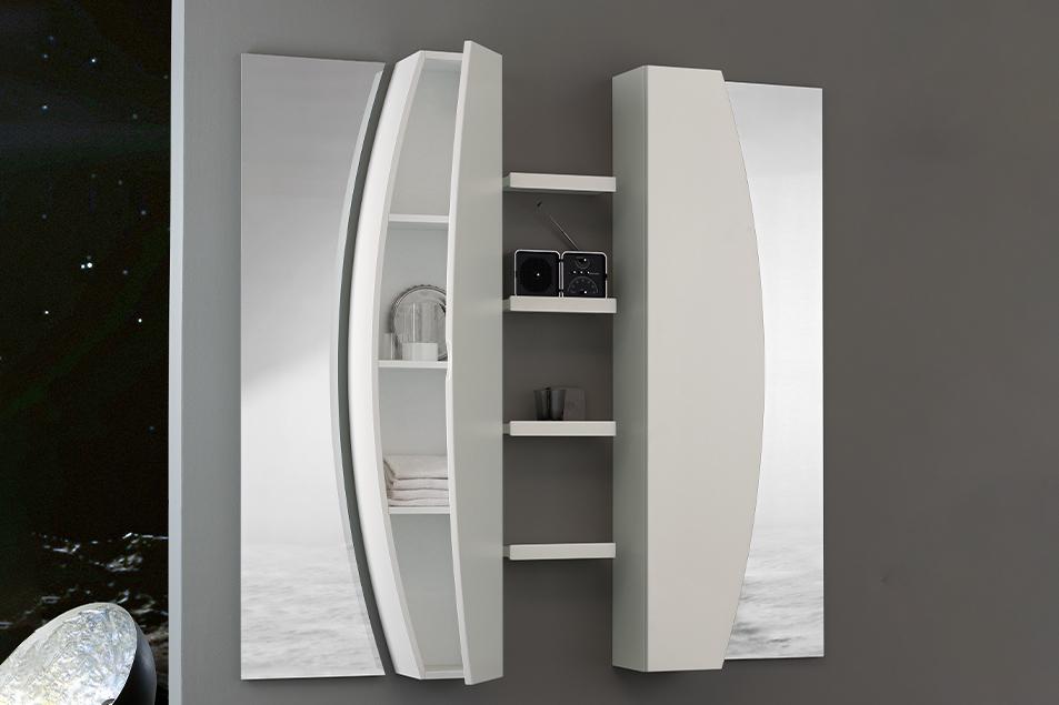 Specchio particolare Moon da bagno