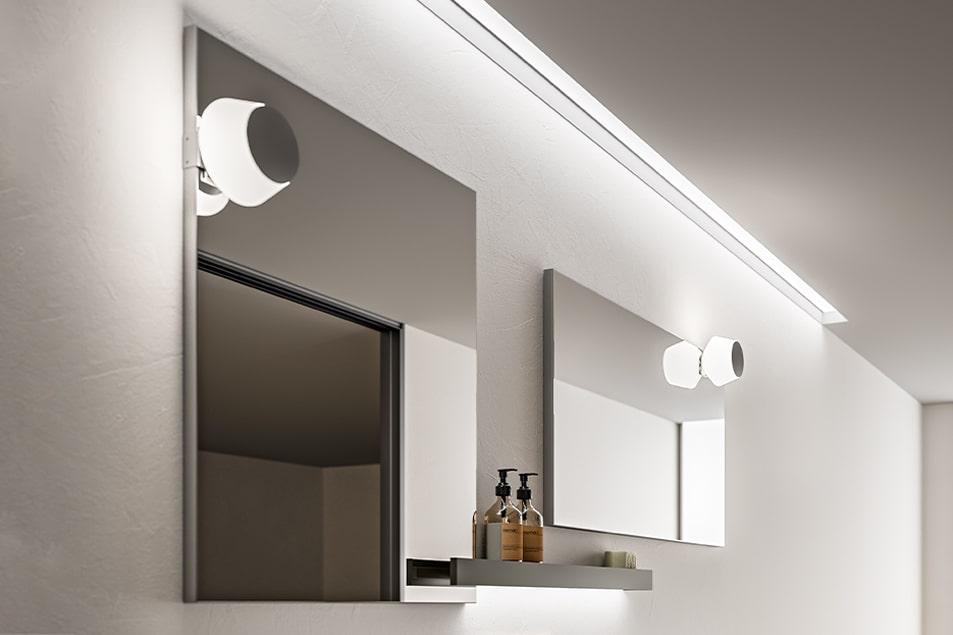 Specchio semplice da bagno Recto Cerasa