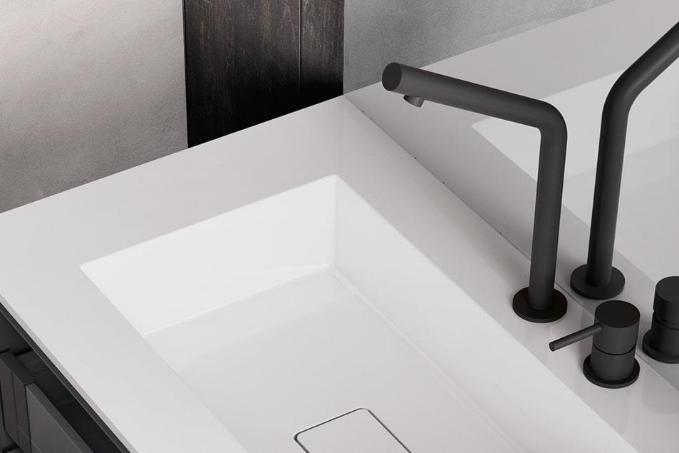 Miscelatore per lavabo bagno Cerasa Mirage