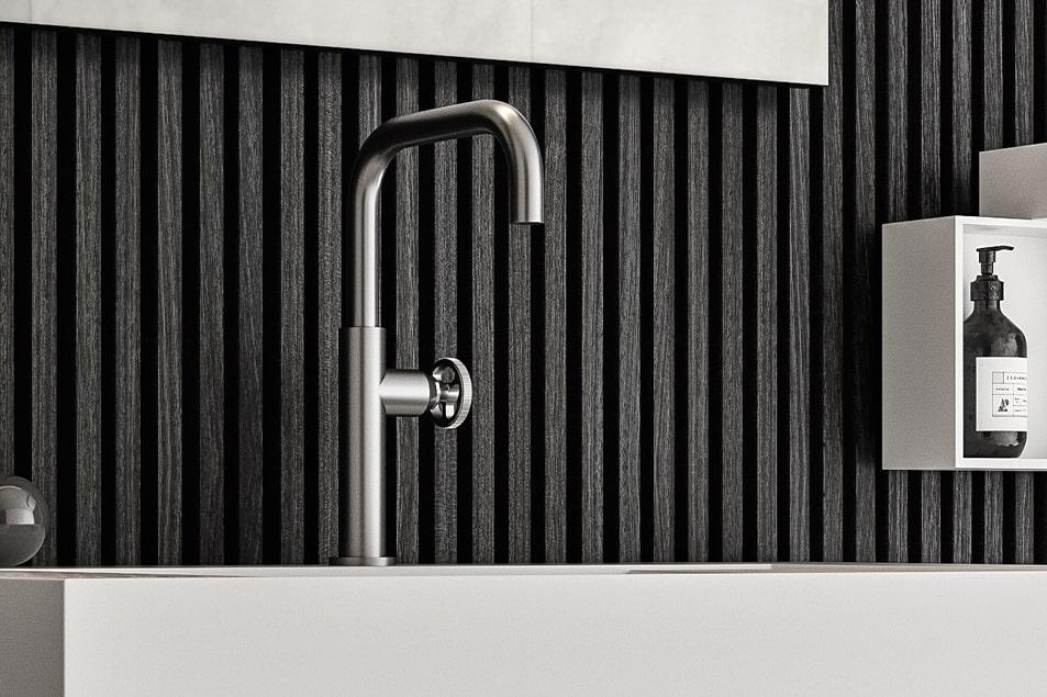 Miscelatore per lavabo bagno Cerasa Industrial 2