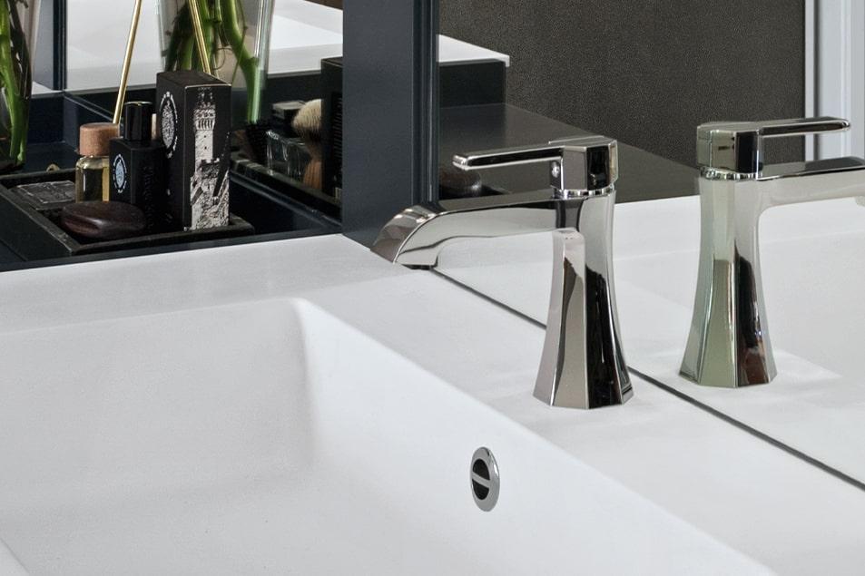 Miscelatore per lavabo bagno Cerasa Decò 1