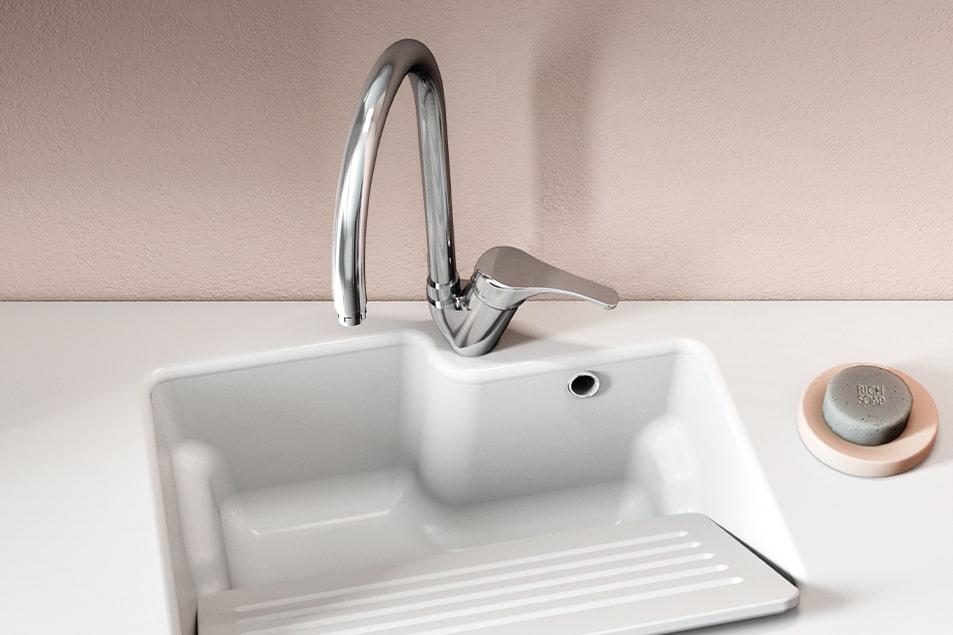 Miscelatore per lavatoio lavanderia Cerasa Basic