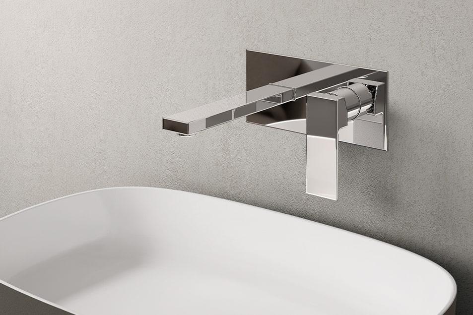 Rubinetto e miscelatore per lavabo bagno Cerasa Simply