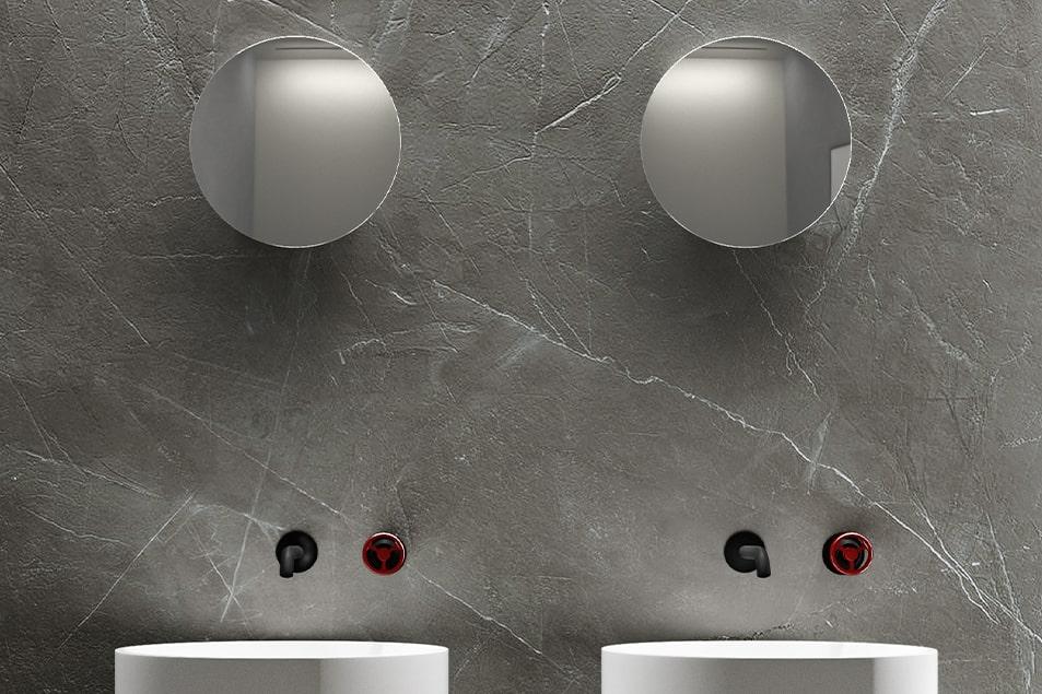 Specchi particolari Tondo 1 da bagno