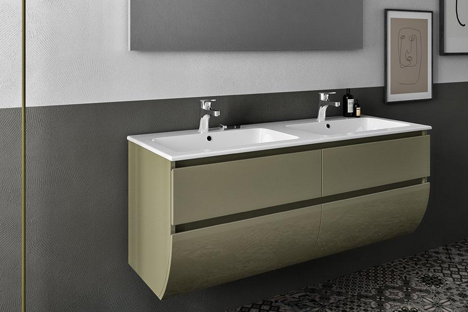 Doppio lavabo, l'arredobagno raddoppia gli spazi, idee e soluzioni MISURA Cerasa